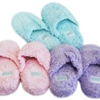 Soft N Shaggy College Dorm Room Slippers - Cheap Dorm Room Bathroom Necessity