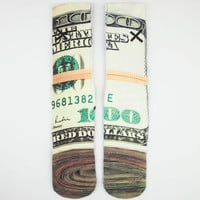Odd Sox Bands Mens Tube Socks Green Combo One Size For Men 24716354901
