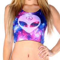 We Rave in Peace Crop Top