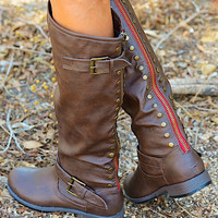 Good To Be Bad Boots - Brown