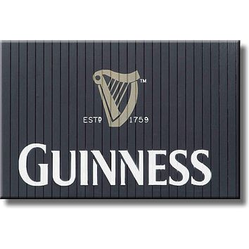 Guinness Beer Picture on Stretched Canvas, Wall Art Décor, Ready to Hang
