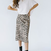 Wild Side Silk Skirt