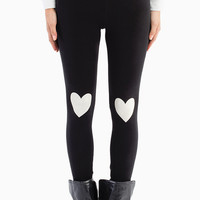 Heart On My Knee Leggings - TOBI