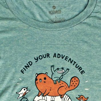 Find Your Adventure Women's Shirt -- Super Soft Tee