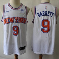 Men's New York Knicks R.J. Barrett Nike White Swingman Jersey - Best Deal Online