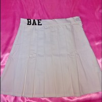 SWEET LORD O'MIGHTY! BAE TENNIS SKIRT IN WHITE