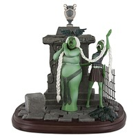 Disney Parks Opera Singers Figurine The Haunted Mansion Figurine New With Box