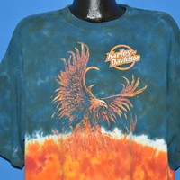 90s Harley Davidson Twin Cities Tie Dye t-shirt Extra Large