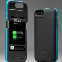 i-Blason PowerPack iPhone 5 Rechargeable External Battery Glider Full Protection Case with Micro 5 Pin USB Charging Port - AT&T, Sprint, Ver