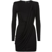 Balmain Drape Mini Dress