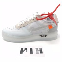Nike Air Force 1 x Off White Virgil Abloh The Ten UK 6 US 6.5 EU 39