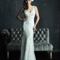 Allure Couture C264 Beaded Wedding Dress