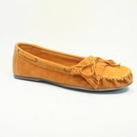 Women's Cute Round Toe Slip On  Moccasin Flats Shoes NEW All Size 5.5 - 10