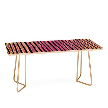 Elisabeth Fredriksson Quirky Stripes Coffee Table