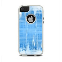 The Water Color Ice Window Apple iPhone 5-5s Otterbox Commuter Case Skin Set