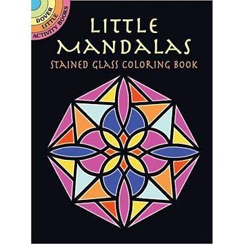 Stained Glass Mandalas Tea Party Activity Coloring  Book