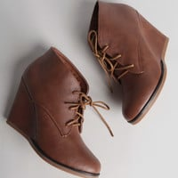 Carolyn Lace-Up Wedges