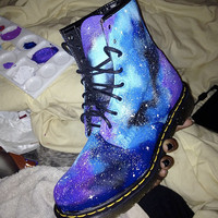 Customised Doc Martens (or other Shoes) -- Galaxy, Baroque and Custom Requests