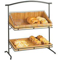 26.25W x 12.5D x 27.5H 2 Tier Iron Stand