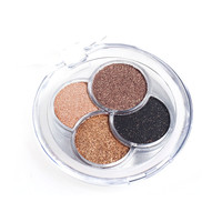 Colorful Series 4 Color Eyeshadow Pallete Diamond Bright Eyeshadow Make up Shining Glitter Beauty Pigment Powder Palette Compact