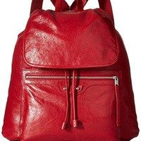 Balenciaga Men's Traveler Backpack, Red