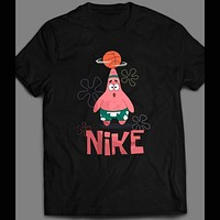 NICK CARTOON'S PATRICK STARFISH PARODY CARTOON ART SHIRT