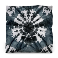 Dark 60's Throw Pillow