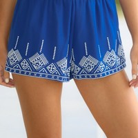 Catch The Wave Shorts-Royal Blue