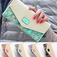 PU Leather Wallet & Card Holder