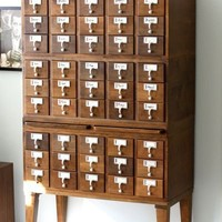 The Card Catalog File   Small Notebook