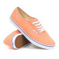 Vans Authentic Lo Pro (Melon/True White) Women's Shoes