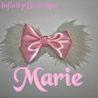 Marie Aristocats Inspired Hair Bow