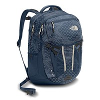 Women's Recon Backpack in Shady Blue Bandana Print & Shady Blue by The North Face