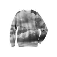 In The Clouds Sweatshirt created by PoseManikin | Print All Over Me