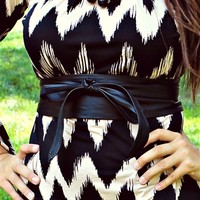 black wrap belt by southern fried chics