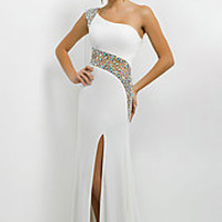 Full Length One Shoulder Gown