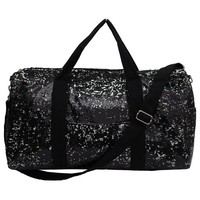Adorable 2 Tone Sequin Cheer Dance Yoga Girly Duffle Bag