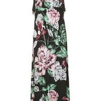 Floral Print Maxi Dress By Kendall + Kylie at Topshop