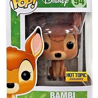 Disney Flocked Bambi Funko Pop! #94 Hot Topic Exclusive