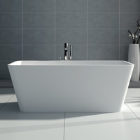 Rectangular Freestanding Bathtub (3 sizes) - SW-103