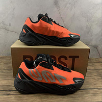 Morechoice Tuhl Adidas Yeezy Boost 700 Mnvn Orange Hollow Running Shoes Low Sneaker Breathable Jogging Shoes Fv3258