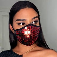New product hot sale personalized mask with diamond dustproof