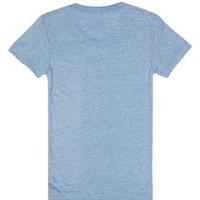 Time to Drink-Female Athletic Blue T-Shirt