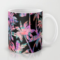Maui Palm {Black} Mug by Schatzi Brown