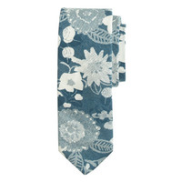 J.Crew Mens The Hill-Side Cotton Tie In Xerox Floral