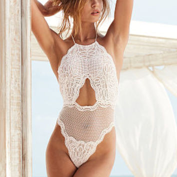 Cutout High-neck Teddy - Dream Angels - Victoria's Secret
