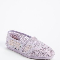TOMS 'Classic - Lilac Snow' Crochet Slip-On (Women) | Nordstrom