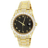Presidential 40mm Solitaire Arabic Dial Oyster Watch