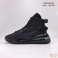 697 Nike Air Max 720 Satrn Hight Breathable Sneakers Knit Casual Fashion Basketball Shoes