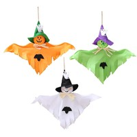 Hanging Ghost Craft For Halloween Decoration Hotel Bar Haunted House Decor Funny Joking Toys Halloween Party Supplies